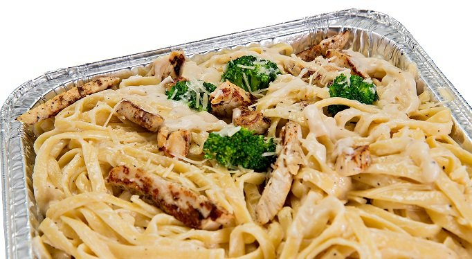 Photo of catering chicken fettuccini