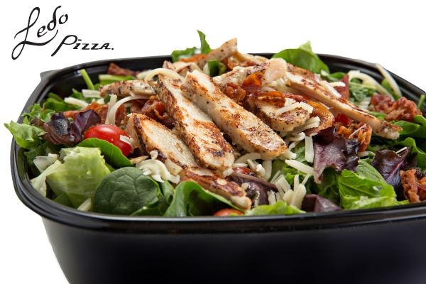 Catering grilled chicken tossed