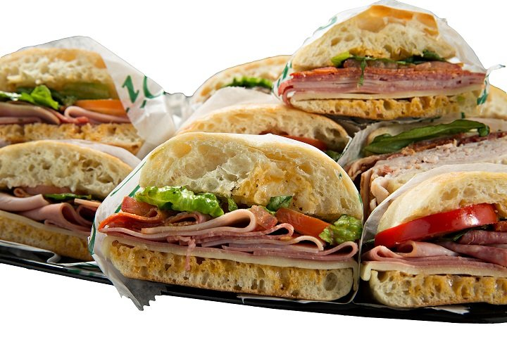 Photo of sandwich platter catering