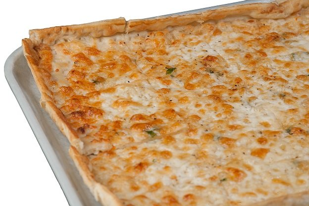 Photo of white ledo pizza
