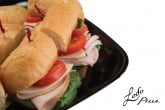 photo of catering sub platter