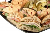 Photo of catering sandwich platter