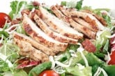 Photo of grilled chicken salad