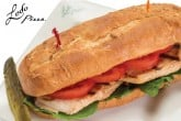 photo of grilled chicken sub