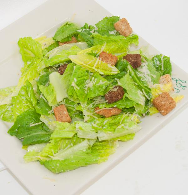 photo of side caesar salad