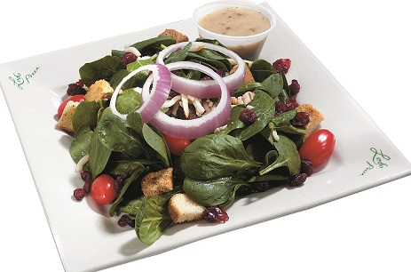 photo of spinach salad