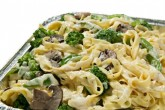 Photo of veggie pasta catering size