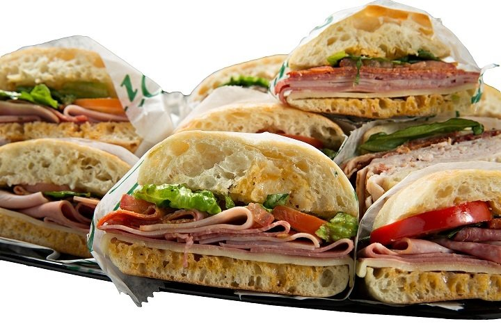 Photo of catering size sandwich platter