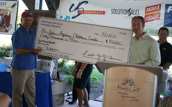 Photo of Golf Check Presentation
