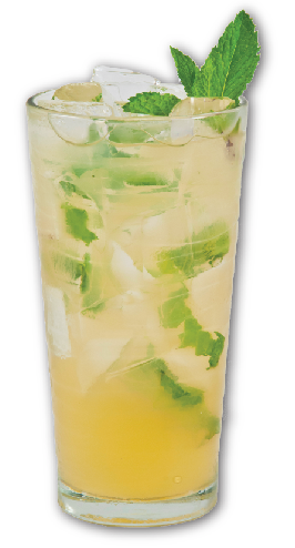 Photo of mango mint drink
