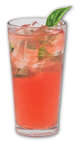Photo of strawberry cooler drink