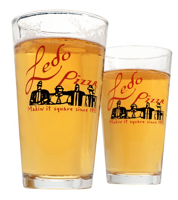 Photo of Beer in a Ledo Pizza Glass