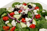 Photo of Mediterranean Spinach Salad