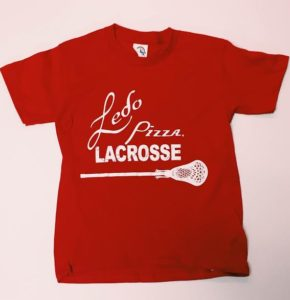 Limited Edition Ledo Pizza Lacrosse Shirt!