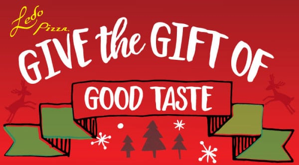 Text: Give the Gift of Good Taste