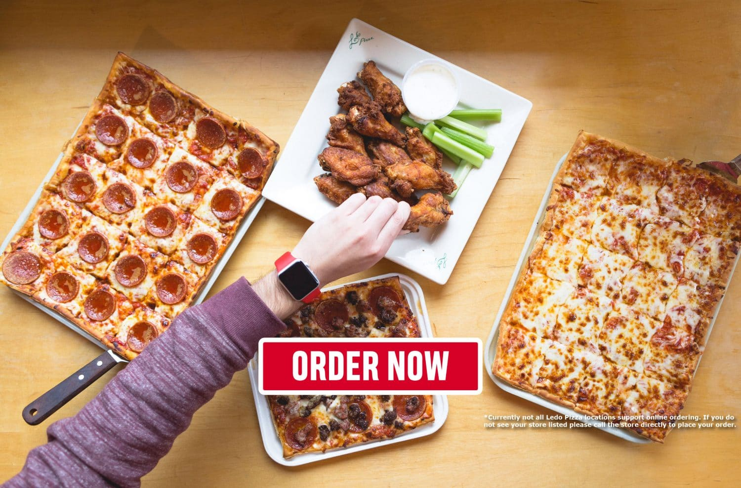 Ledo Pizza | Jumbo Wings, Pizza, and Salads | Pizza Near Me